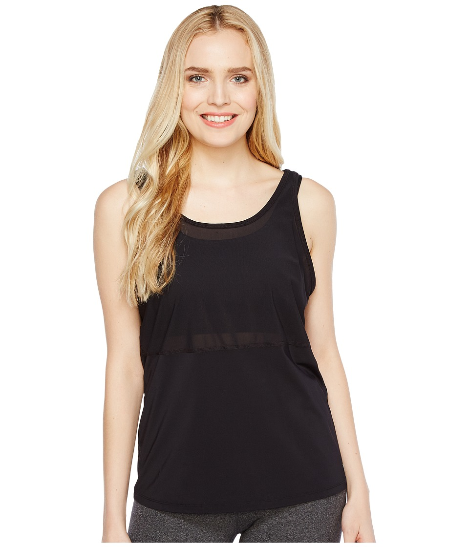 Ivanka Trump Active Bra with Tank Top Pullover (Black) Women