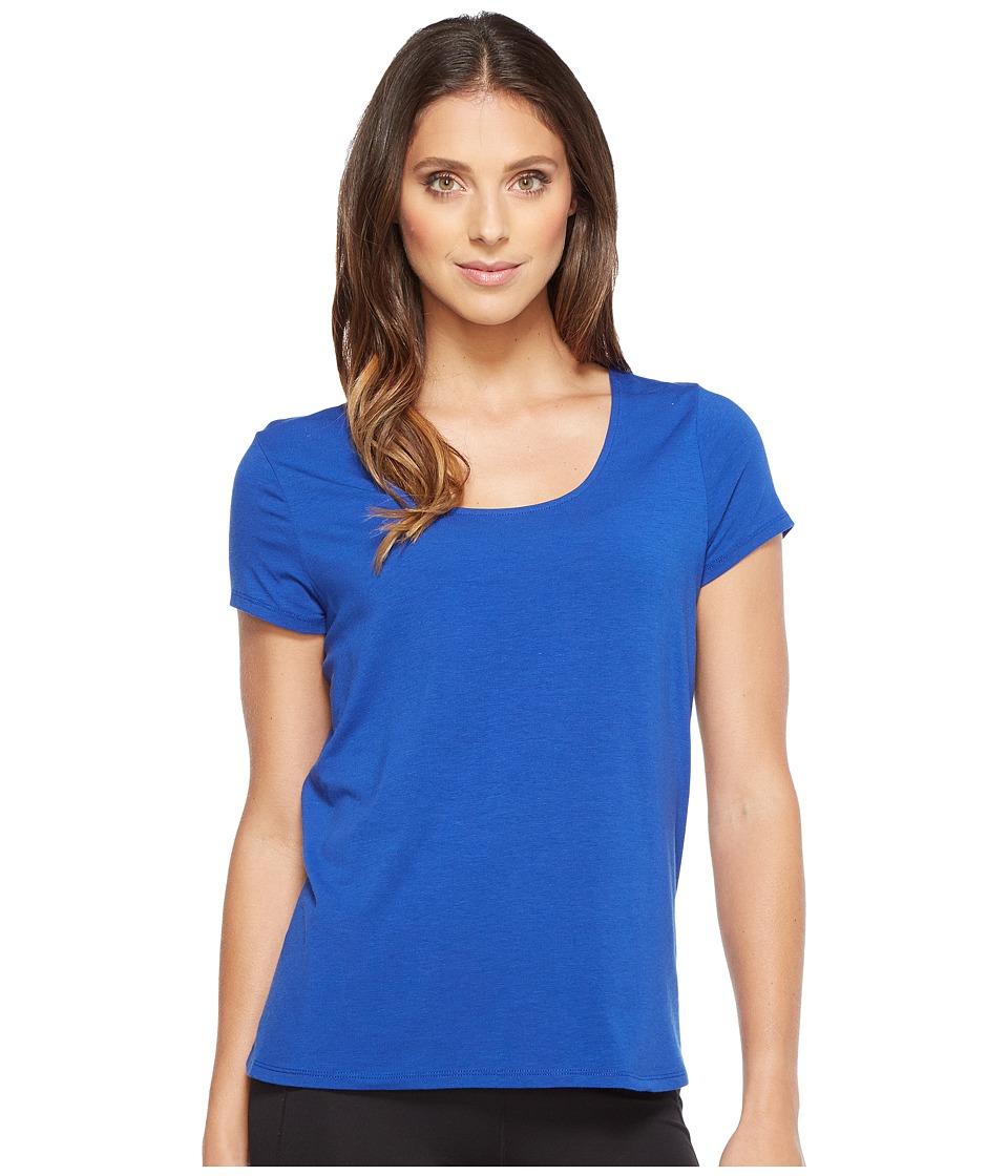 Ivanka Trump - Cotton/Modal Cross-Back Tee (Surf the Web) Women's T Shirt
