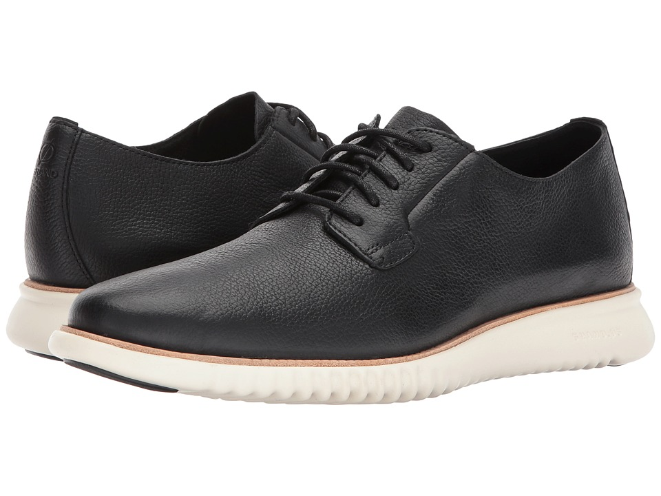Cole Haan 2 Zerogrand Decon PL Ox (Black/Ivory) Men's Shoes