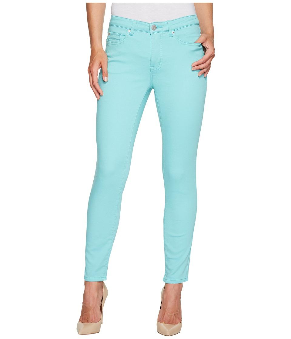 Tribal - Five-Pocket Ankle Knit Denim 28 Jeggings in Light Aqua (Light Aqua) Women's Jeans
