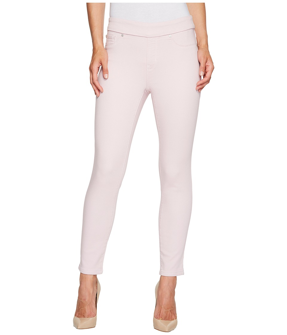 Tribal - Pull-On Ankle Knit Denim 28 Jeggings in Pink Dust (Pink Dust) Women's Jeans