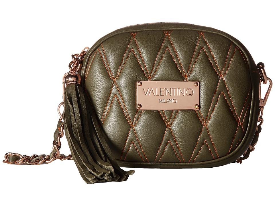 Valentino Bags by Mario Valentino - Nina D (Army Green) Handbags