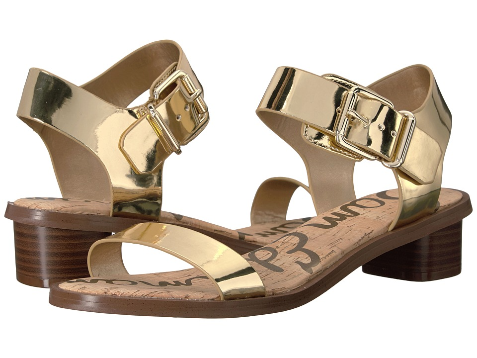 Sam Edelman - Trina 2 (Gold Shine Liquid Metallic) Women's Sandals