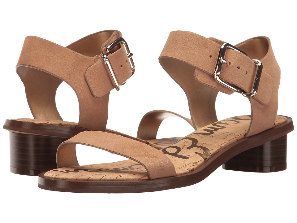 Sam Edelman - Trina 2 (Golden Caramel Kid Suede Leather) Women's Sandals