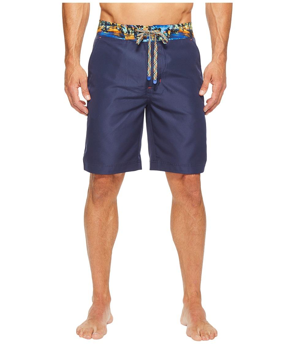 Robert Graham - Boundless (Navy) Men's Swimwear