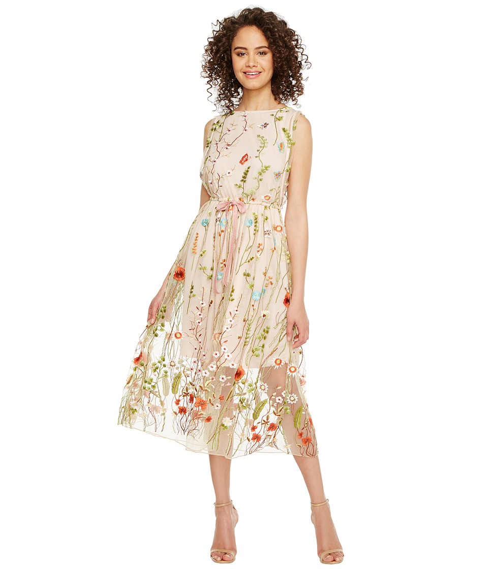 Eva by Eva Franco - Carrington Dress (Peach Floral) Women's Dress