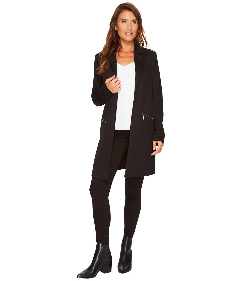 Tribal Long Sleeve Jacket w/ Zippers (Black) Women