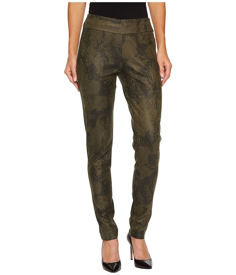 Tribal Pull-On 31 Printed Suede Leggings (Forest) Women