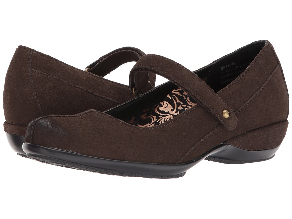 Aetrex - Alex (Brown) Women's Maryjane Shoes