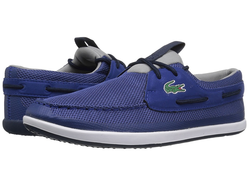 Lacoste - L.Andsailing 117 1 (Dark Blue) Men's Shoes