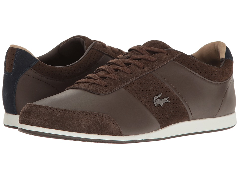 Lacoste - Embrun 117 1 (Dark Brown) Men's Shoes