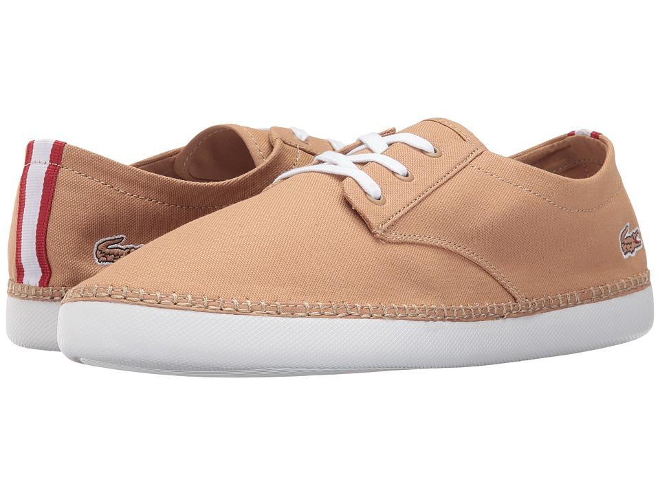 Lacoste - L.Ydro Deck 117 1 (Tan) Men's Shoes