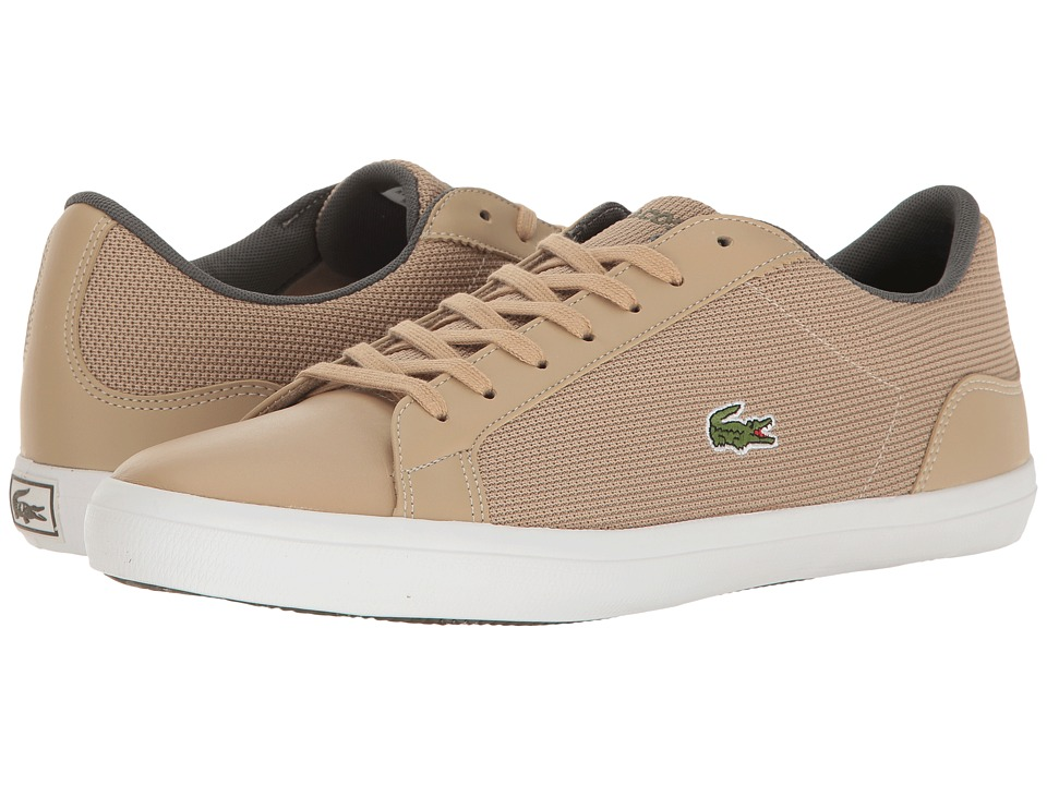 Lacoste - Lerond 117 3 (Natural) Men's Shoes