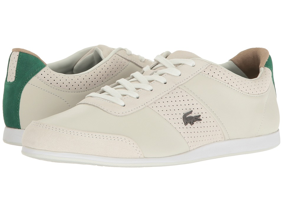 Lacoste - Embrun 117 1 (Off-White) Men's Shoes