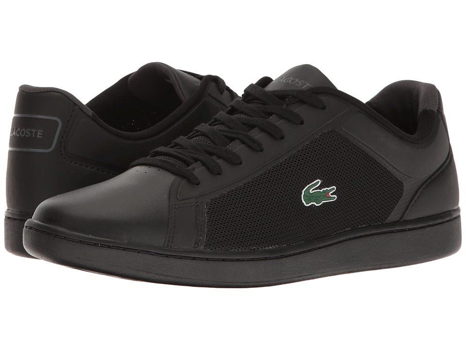 Lacoste - Endliner 117 1 (Black) Men's Shoes
