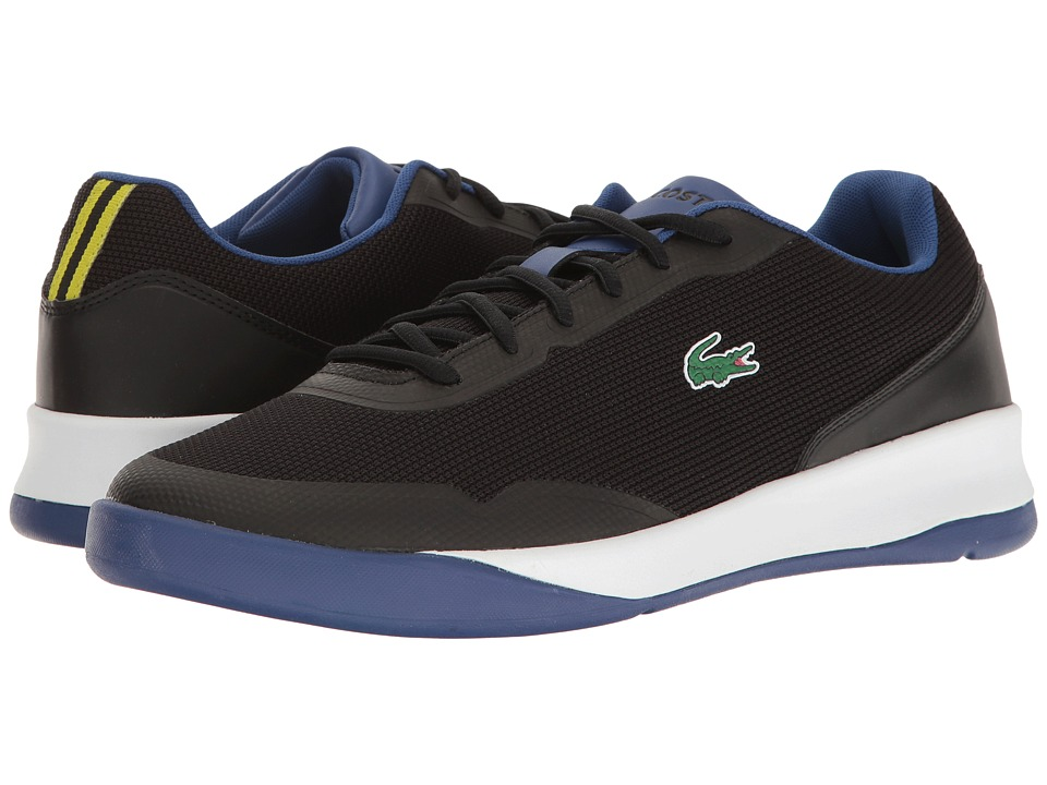 Lacoste - LT Spirit 117 1 (Black/Blue) Men's Shoes