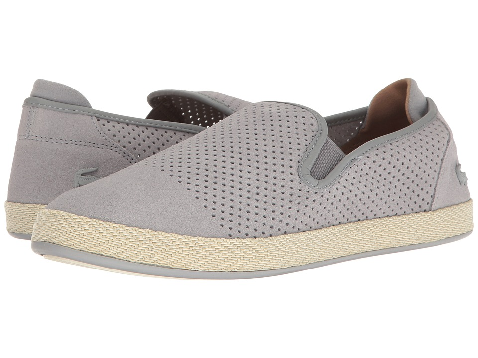 Lacoste - Tombre Slip-On 117 1 (Grey) Men's Shoes