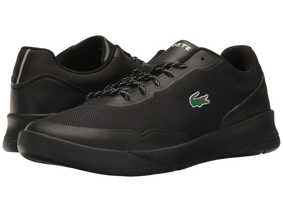 Lacoste - Lt Spirit 117 2 (Black) Men's Shoes