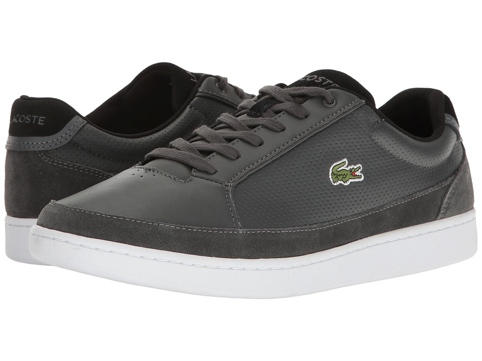Lacoste - Setplay 117 1 (Dark Grey) Men's Shoes