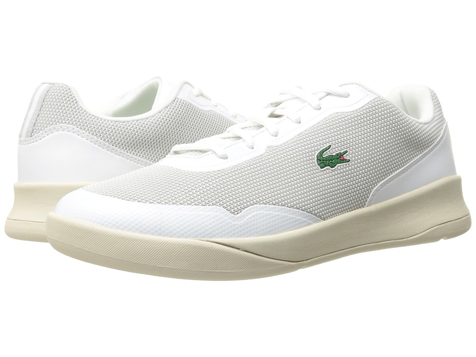 Lacoste - Lt Spirit 117 3 (White/Off-White) Men's Shoes