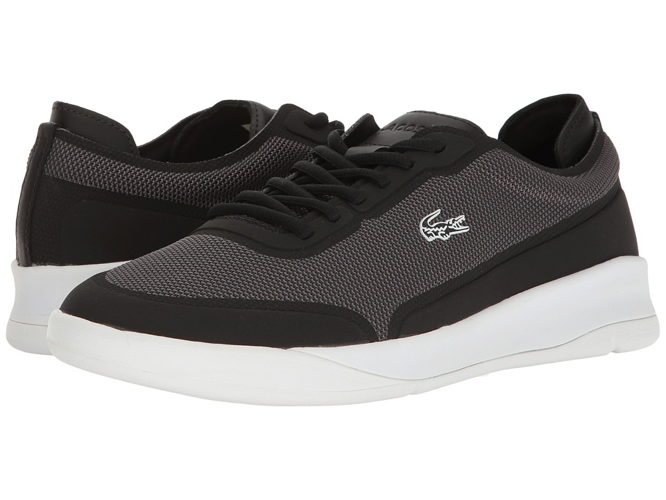 Lacoste - LT Spirit Elite 117 1 (Black) Men's Shoes