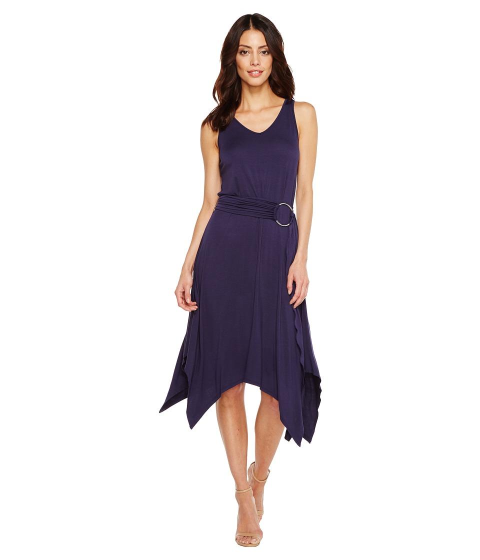Ivanka Trump - Knit Tank Top Hank Hem Dress (Evening) Women's Dress