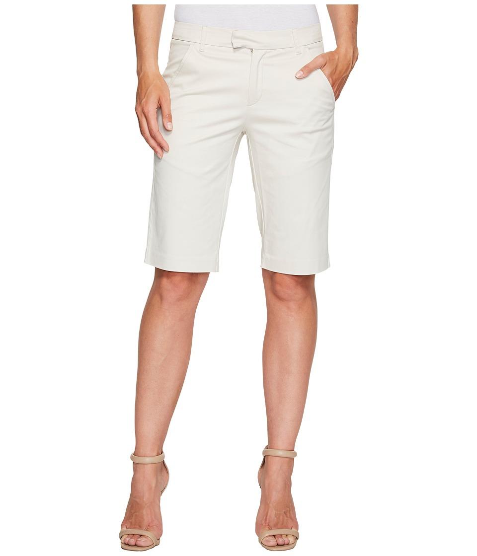 Ivanka Trump - Stretch Cotton Bermuda Shorts in Khaki (Khaki) Women's Shorts