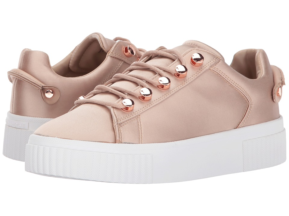 KENDALL + KYLIE - Rae 3 (Light Pink Fabric) Women's Shoes