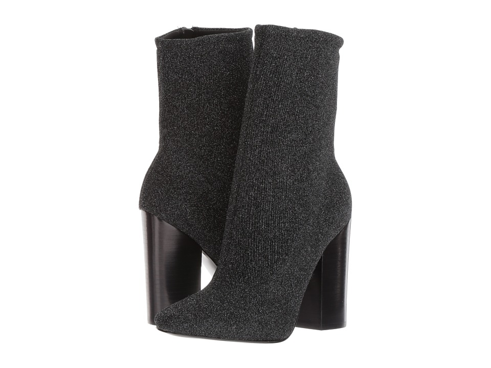 KENDALL + KYLIE Hailey 4 (Black Multi Fabric) Women
