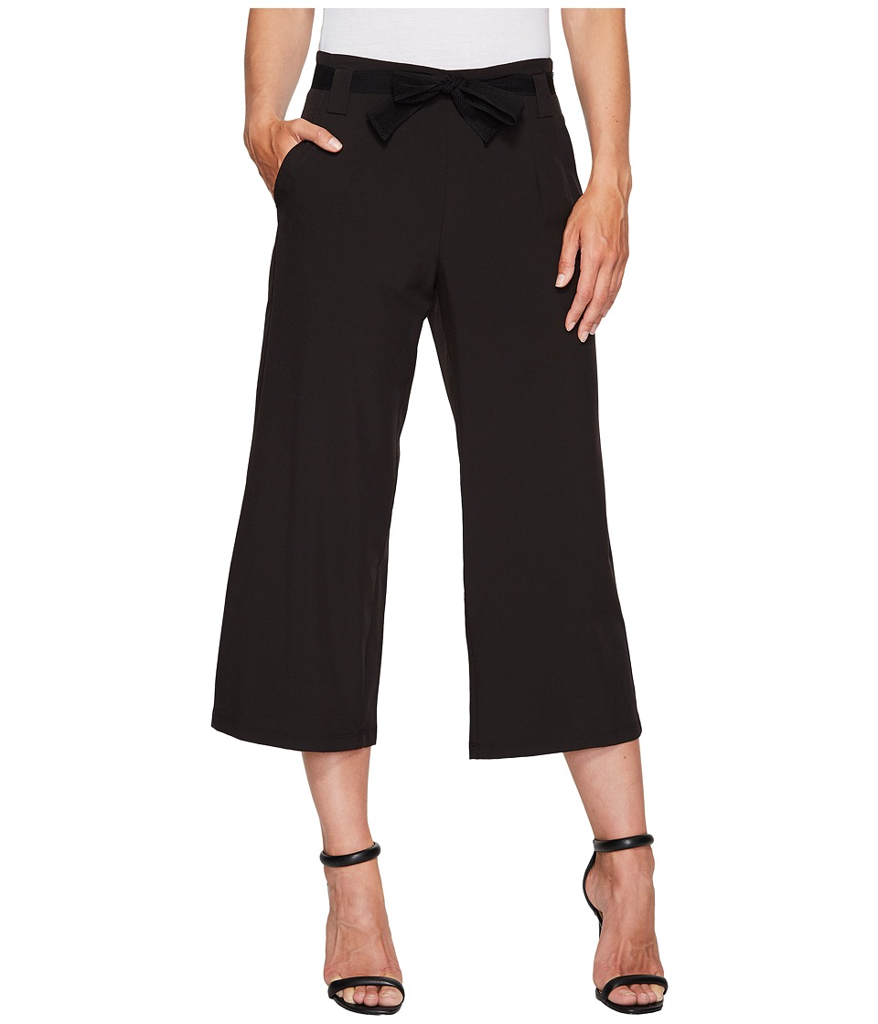 Ivanka Trump - Wide Leg Active Pants (Black) Women's Casual Pants