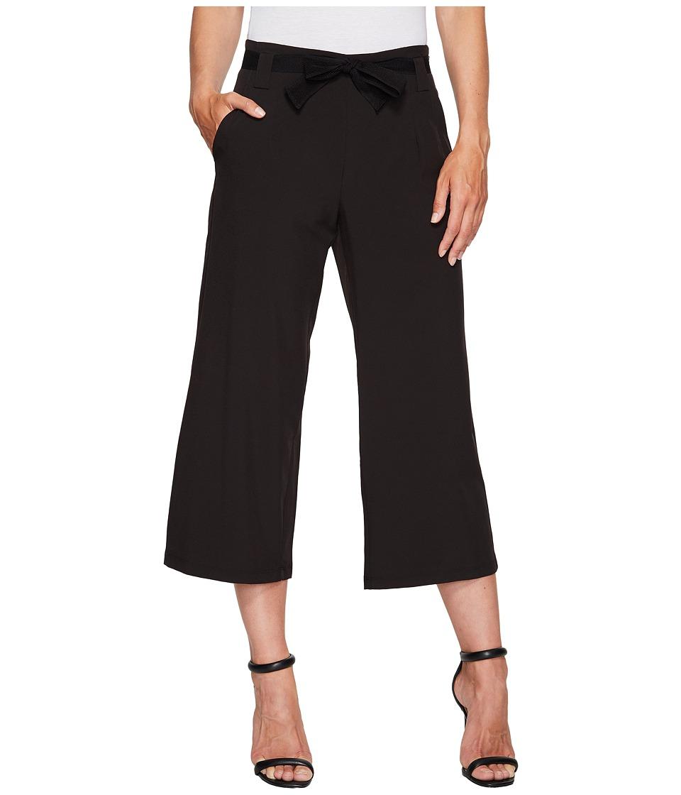 Ivanka Trump - Wide Leg Active Pants (Black) Women's Casual Pants