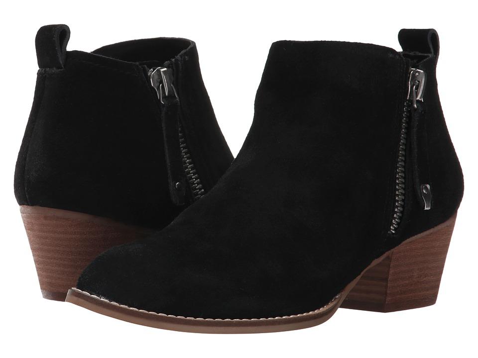 Dolce Vita - Saidi (Black Suede) Women's Shoes