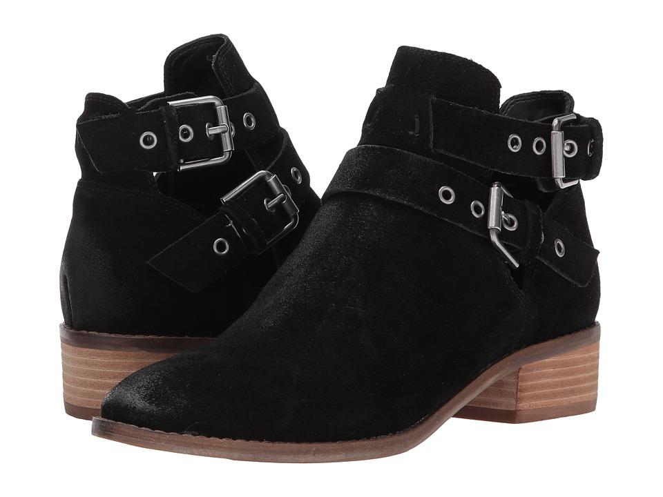 Dolce Vita - Tana (Black Suede) Women's Shoes