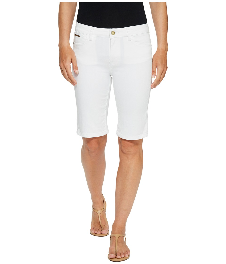 Ivanka Trump - Denim Bermuda Shorts in White (White) Women's Shorts