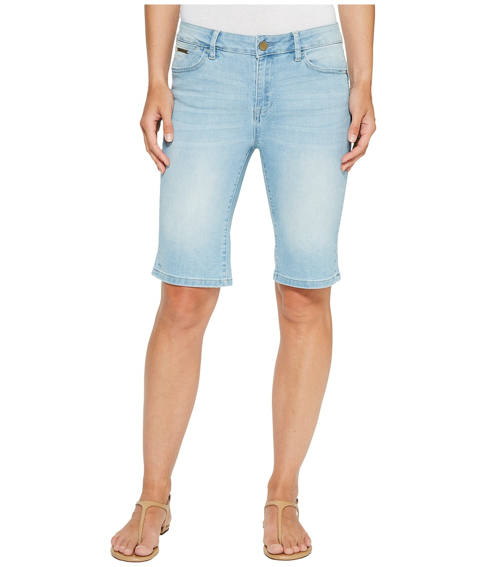 Ivanka Trump - Denim Bermuda Shorts in Antique Bleach (Antique Bleach) Women's Shorts