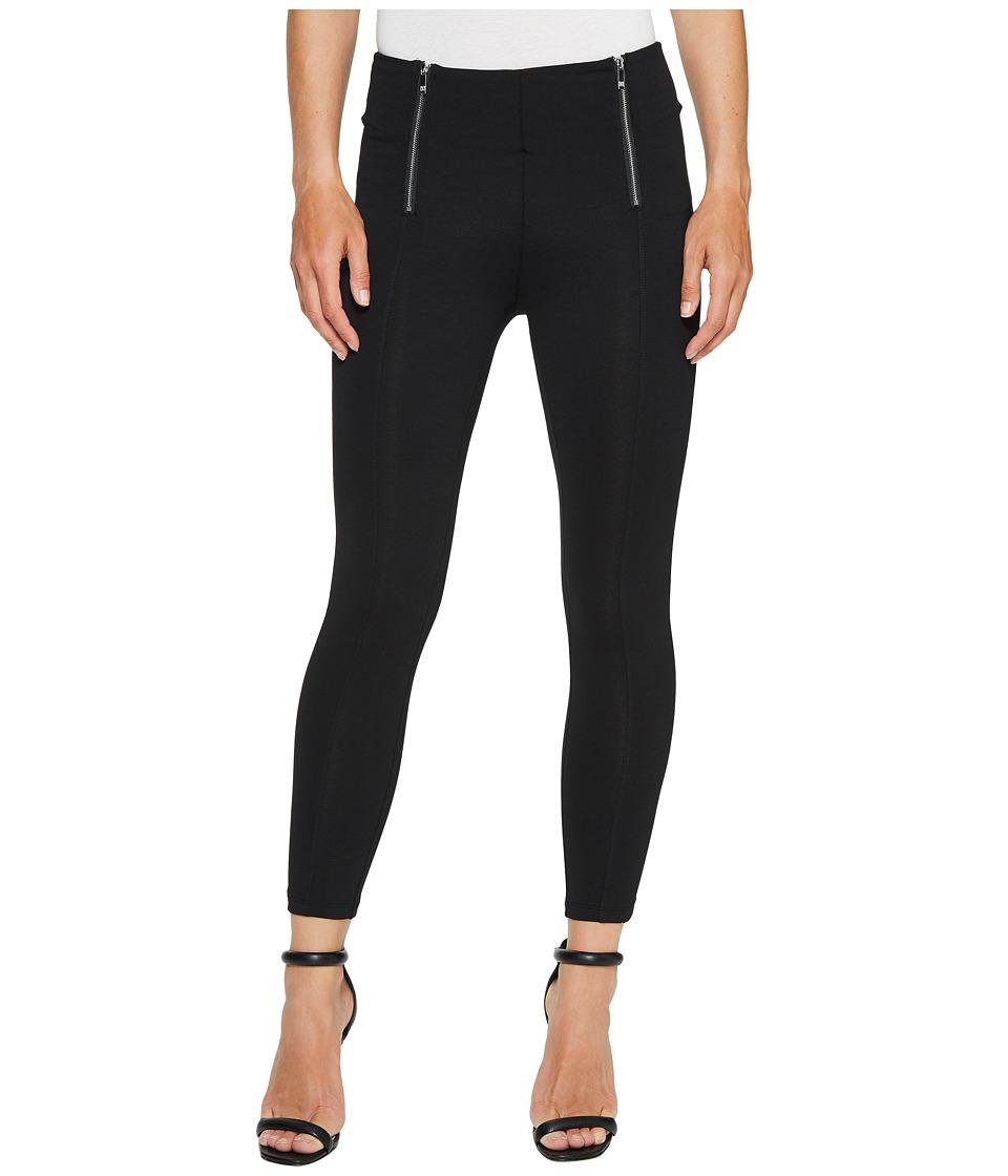 Ivanka Trump - Ponte Zipper Pants in Black (Black) Women's Dress Pants