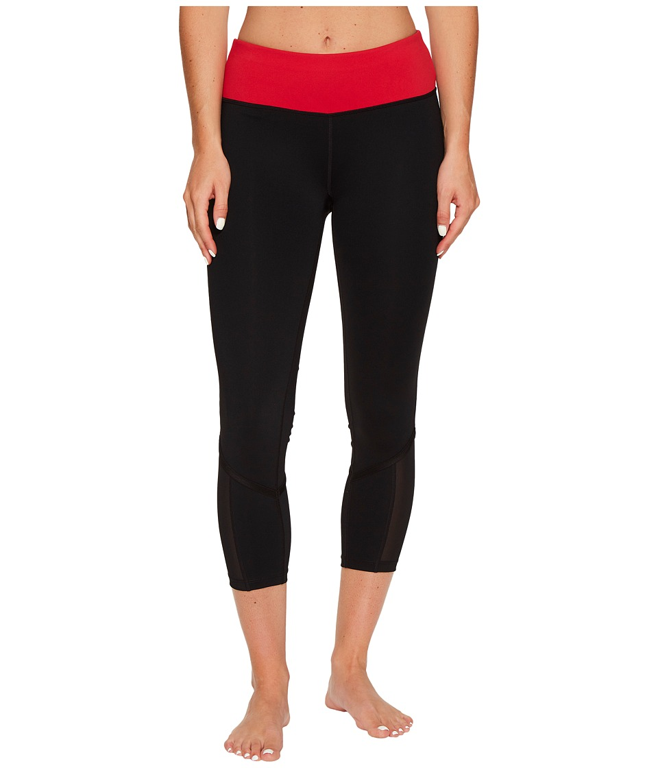 Ivanka Trump - White Band Leggings (Black Multi) Women's Casual Pants