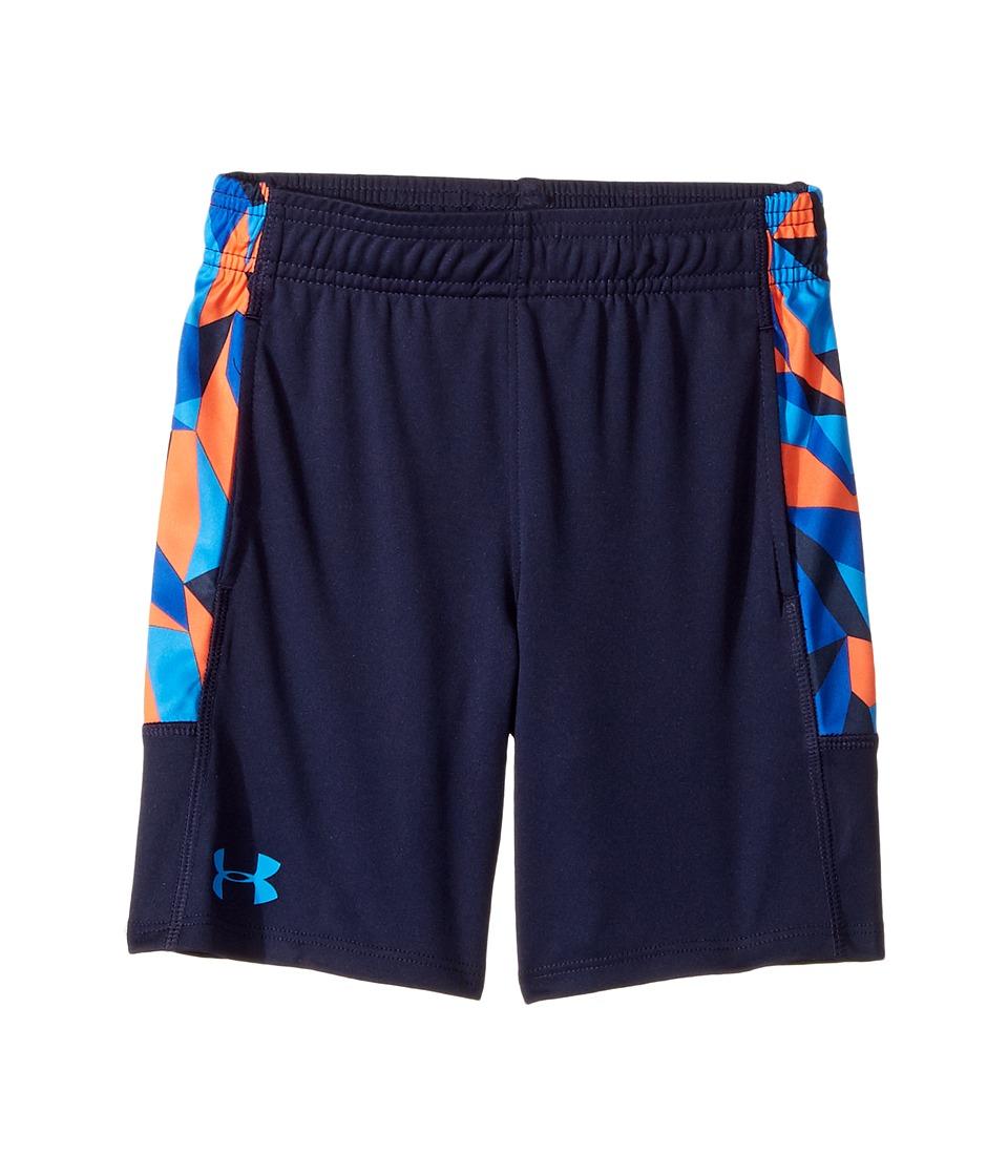 Under Armour Kids - Stunt Shorts (Little Kids/Big Kids) (Midnight Navy) Boy's Shorts