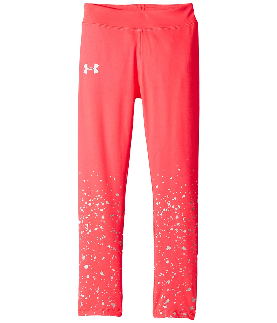 Under Armour Kids - Splatter Shimmer Leggings (Little Kids) (Penta Pink) Girl's Casual Pants