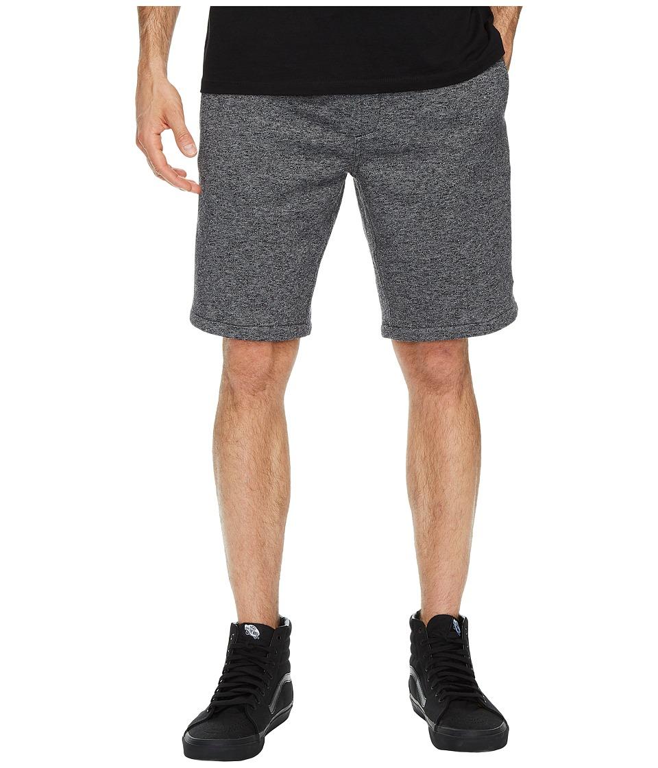 Rip Curl - Destination Fleece Shorts (Black) Men's Shorts