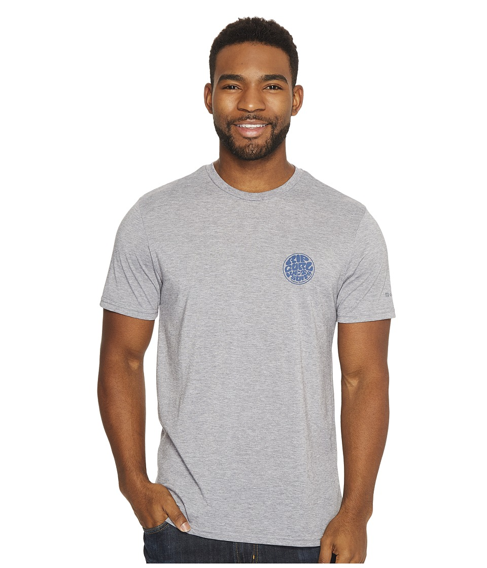 Rip Curl - Mini Wettie Tech Tee (Athletic Heather) Men's Clothing