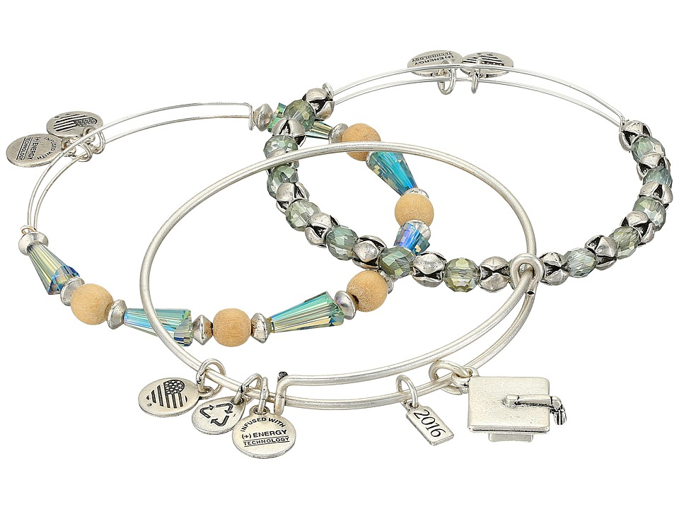 Alex and Ani - Graduation Bracelet Set of 3 (Silver) Bracelet