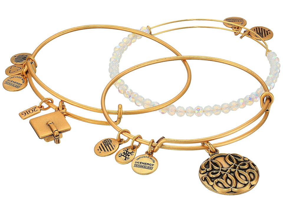 Alex and Ani - Graduation Bracelet Set of 3 (Gold) Bracelet