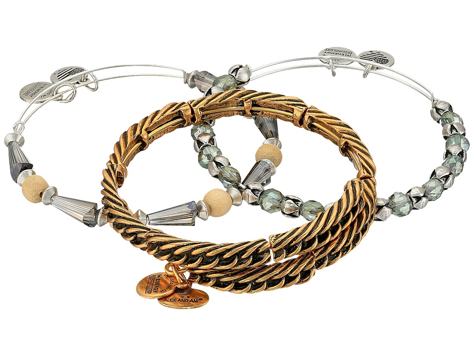 Alex and Ani - Eve Bracelet Set of 3 (Gold) Bracelet