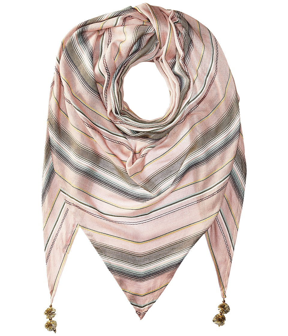 Betsey Johnson - Desert Sunset Triangle (Blush) Scarves
