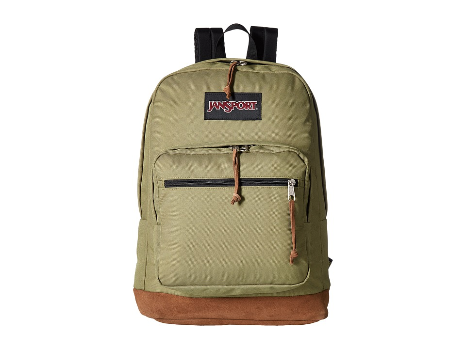 JanSport Right Pack (Olive) Backpack Bags