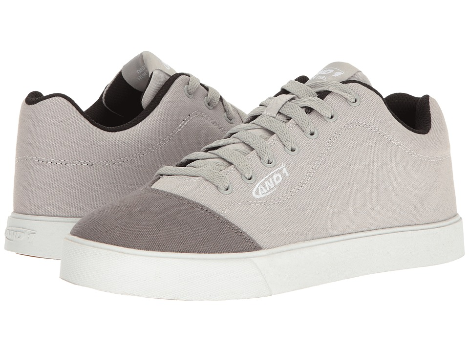 AND1 TC LS Low (High-Rise/Castlerock/White) Men