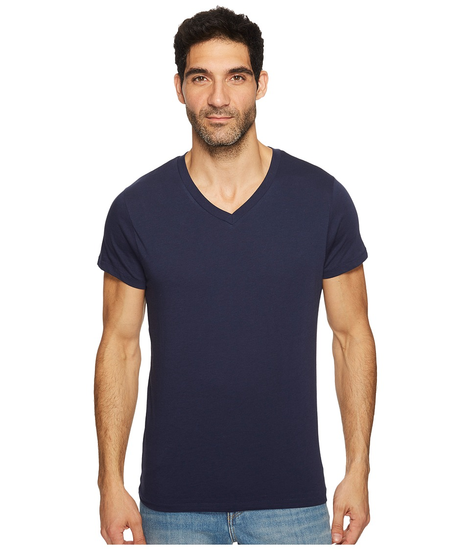Alternative - Perfect V-Neck (Navy) Men's T Shirt