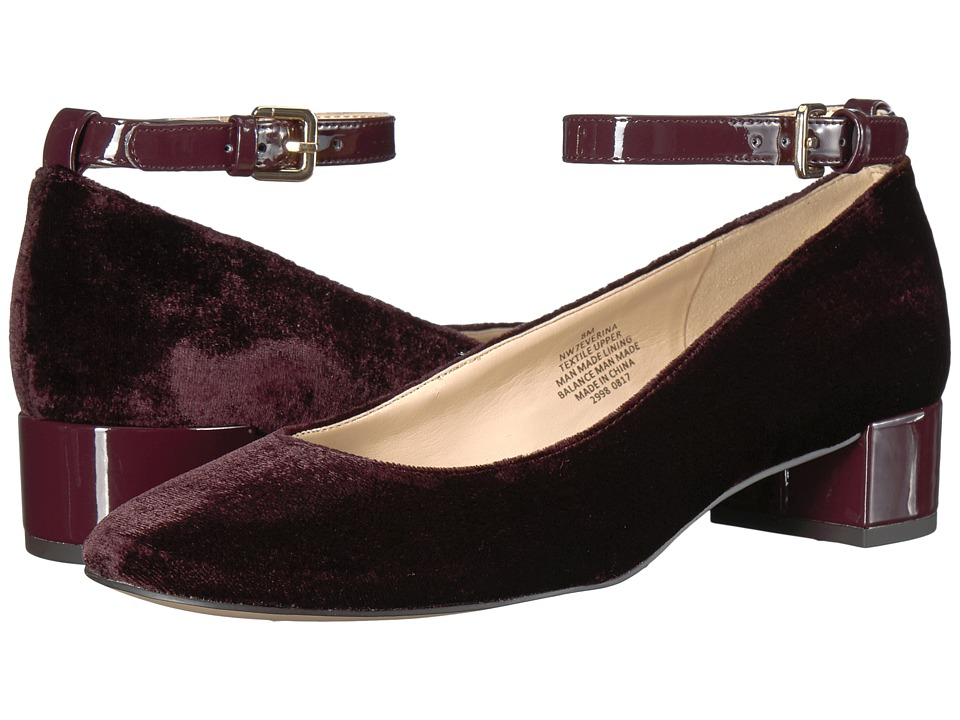 Nine West - Everina (Wine Fabric) Women's Shoes