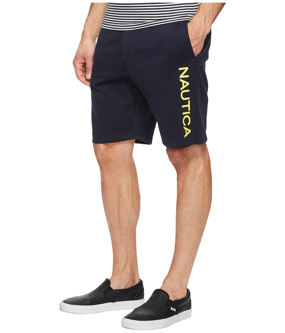 Nautica - Logo Shorts (True Navy) Men's Shorts